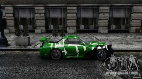 Mazda RX-7 Bushido para GTA 4 left