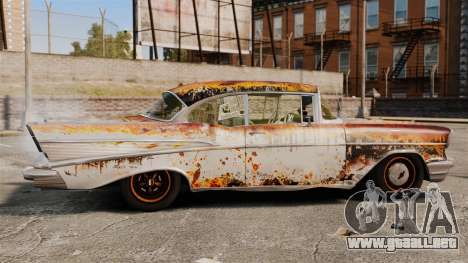 Chevrolet Bel Air 1957 Rusty para GTA 4 left