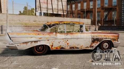 Chevrolet Bel Air 1957 Rusty para GTA 4 left