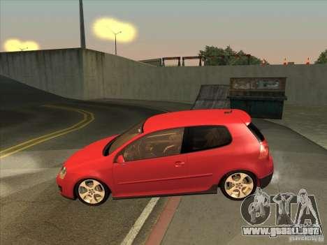 VW Golf Mk5 GTi - Stock: Tunable para GTA San Andreas left
