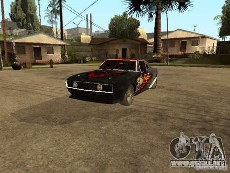 Chevrolet Camaro SS Dragger para GTA San Andreas