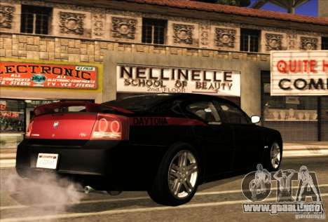 Dodge Charger R/T Daytona para la vista superior GTA San Andreas