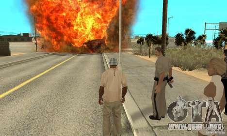 Hipnosis en San Andreas para GTA San Andreas novena de pantalla