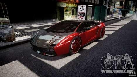 Lamborghini Gallardo Superleggera 2007 (Beta) para GTA 4