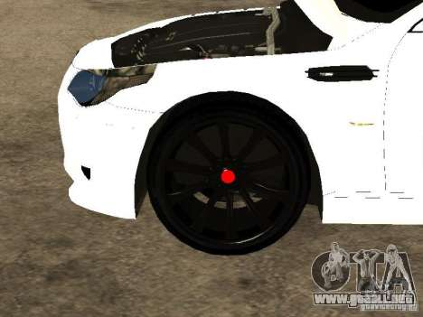 Bmw M5 Ls Ninja Stiil para vista lateral GTA San Andreas