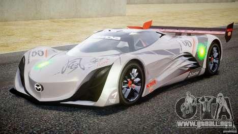 Mazda Furai Concept 2008 para GTA 4 left
