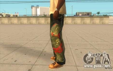Hip-hop jeans para GTA San Andreas segunda pantalla