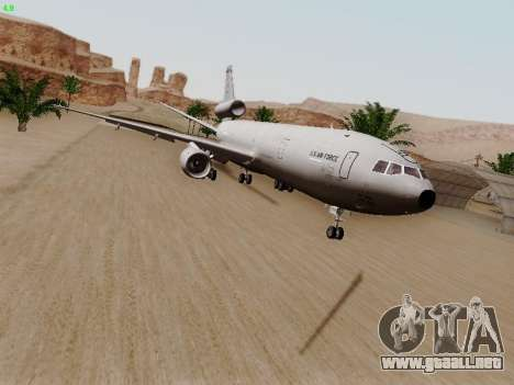McDonell Douglas KC-10A Extender para GTA San Andreas left