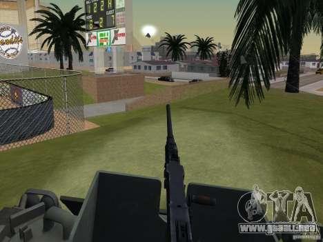Bottom Feeder para GTA San Andreas vista hacia atrás