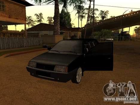 VAZ 21099 Limousine para GTA San Andreas left
