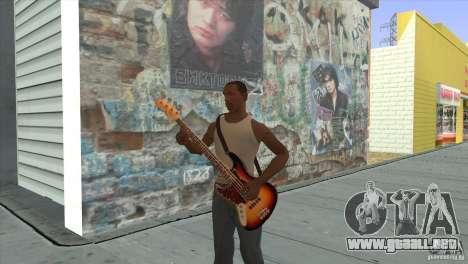 Canciones de la película en la guitarra para GTA San Andreas twelth pantalla