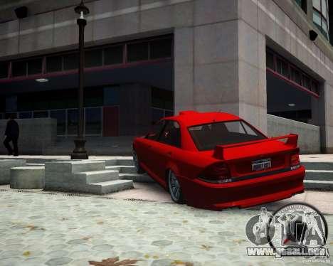 Schafter RS para GTA 4 Vista posterior izquierda
