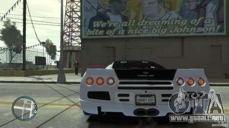 Shelby Super Cars Ultimate Aero para GTA 4 visión correcta