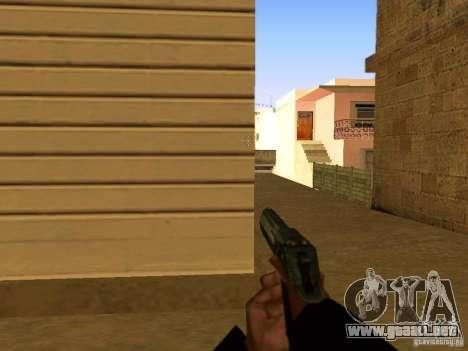 Desert Eagle MW3 para GTA San Andreas séptima pantalla