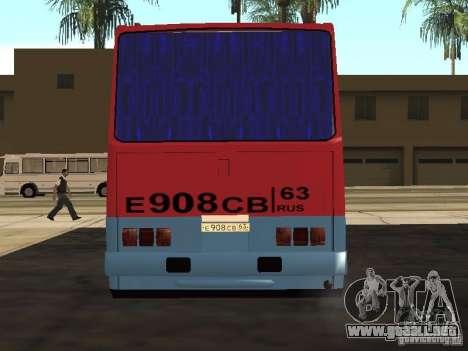 Ikarus 255 para la visión correcta GTA San Andreas
