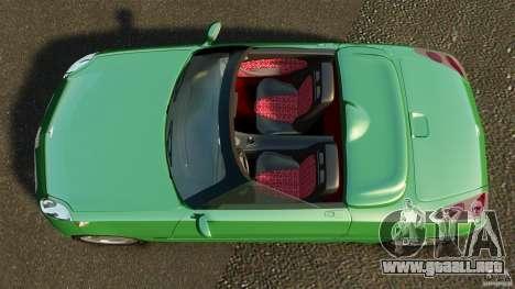 Daewoo Joyster Concept 1997 para GTA 4 visión correcta