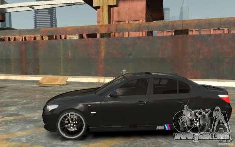BMW M5 Hamman para GTA 4 left