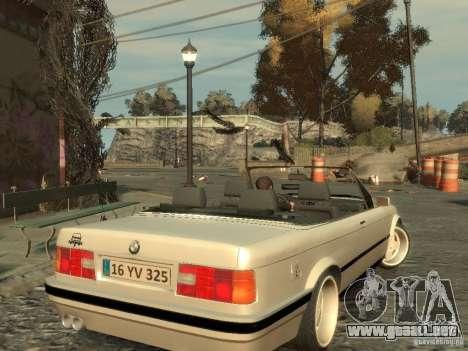 BMW 3-er E30 para GTA 4 vista hacia atrás