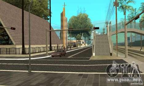 Una nueva superficie de la carretera (superficie para GTA San Andreas segunda pantalla