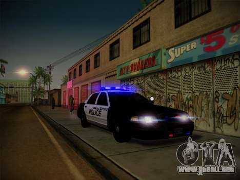 ENBSeries by Treavor V2 White edition para GTA San Andreas sexta pantalla