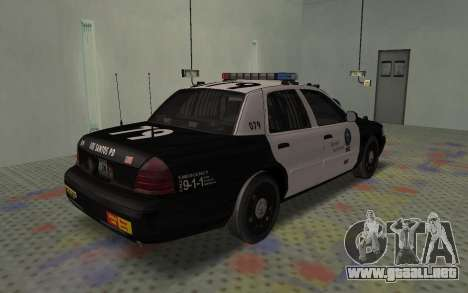 Ford Crown Victoria Police Interceptor LSPD para GTA San Andreas