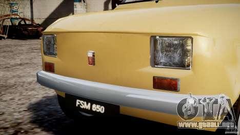 Fiat 126p 1976 para GTA 4 interior