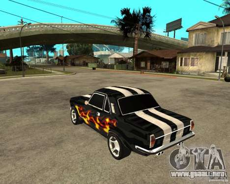 GAZ 2410 Camaro edición para GTA San Andreas left