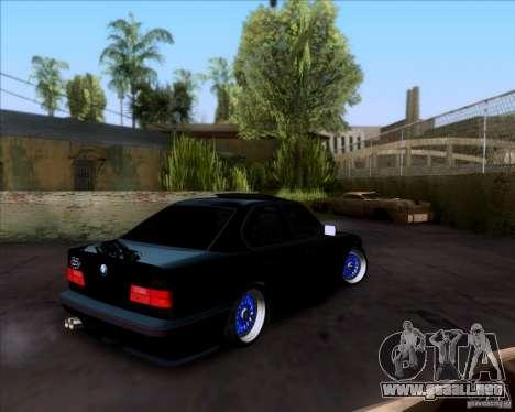 BMW 5-er E34 para GTA San Andreas left