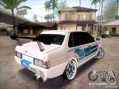 VAZ deriva 21099 estilo para GTA San Andreas left