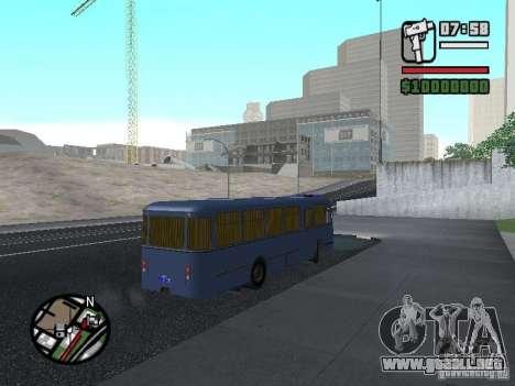 LIAZ 677Š para visión interna GTA San Andreas