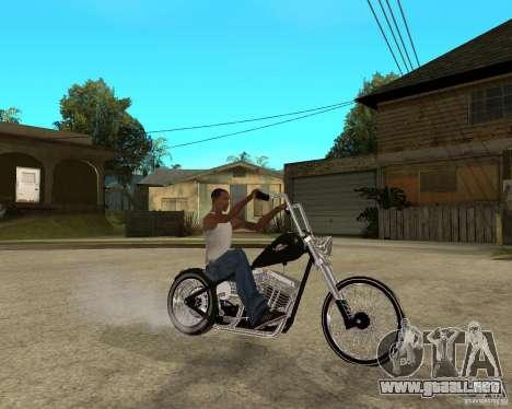 C&C chopeur para la visión correcta GTA San Andreas