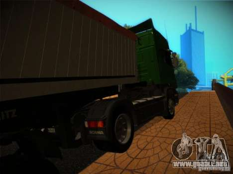 Scania R580 para GTA San Andreas left
