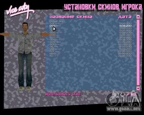 Camisa gris para GTA Vice City séptima pantalla