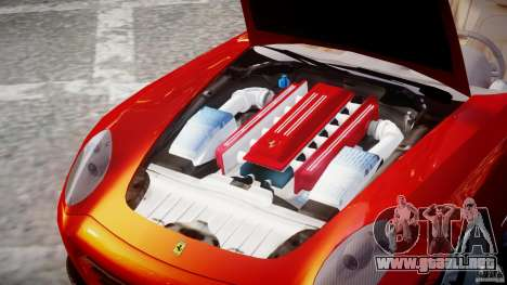 Ferrari 612 Scaglietti custom para GTA 4 vista interior