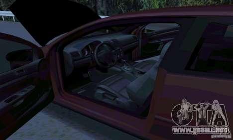 Volkswagen Golf V JDM Style para GTA San Andreas left
