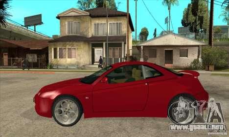 Alfa Romeo GTV para GTA San Andreas left