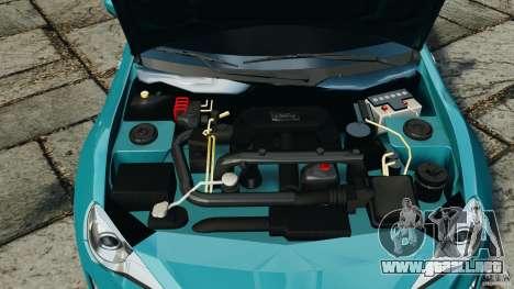 Scion FR-S para GTA 4 vista superior