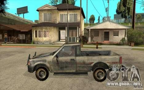 Rusty Mazda Pickup para GTA San Andreas left