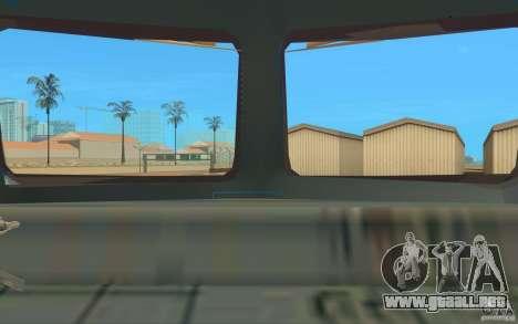 Tren ER2-K-1321 para GTA San Andreas vista hacia atrás