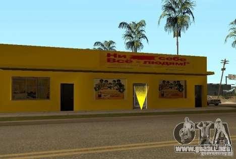 Nuevas texturas de casas en la calle Grove para GTA San Andreas sexta pantalla