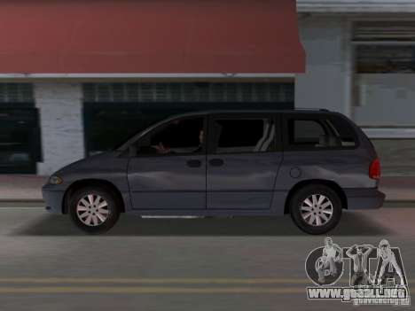 Dodge Grand Caravan para GTA Vice City left