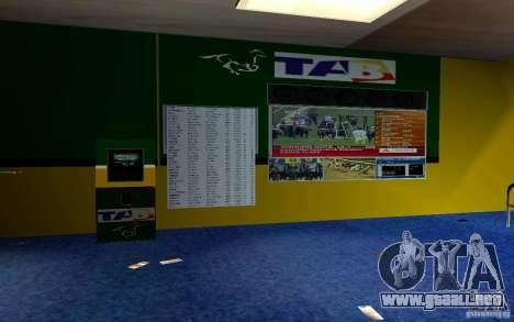 Nueva oficina de Bukmejkerskaâ para GTA San Andreas quinta pantalla