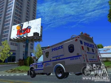 Ford F350 REP Truck para visión interna GTA San Andreas