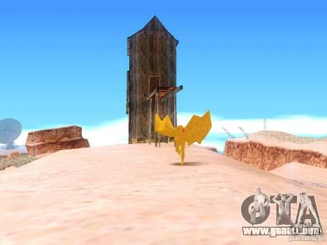 The Mothman para GTA San Andreas tercera pantalla