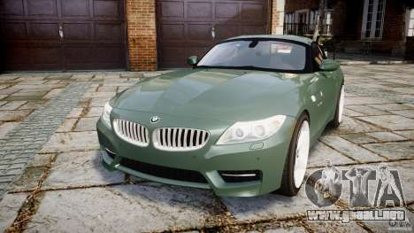BMW Z4 sDrive35is 2011 v1.0 para GTA 4