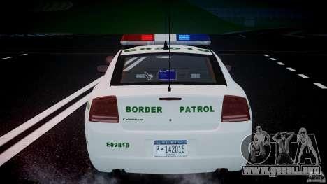 Dodge Charger US Border Patrol CHGR-V2.1M [ELS] para GTA motor 4