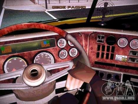 Freightliner Century Classic para la vista superior GTA San Andreas