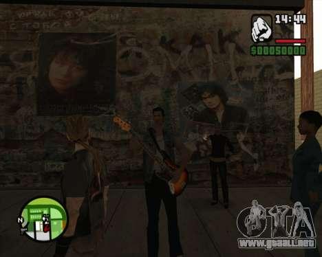 Tommy para GTA San Andreas sucesivamente de pantalla