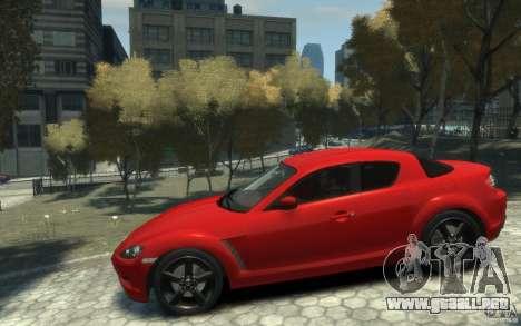 Mazda RX-8 (2006) para GTA 4 left