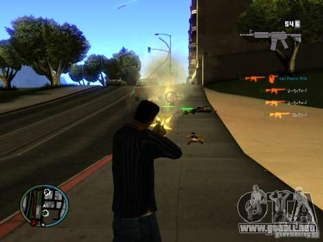 KILL LOG para GTA San Andreas tercera pantalla